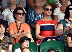 The shocks continue - LONDON, ENGLAND - JULY 01: Olivia Colman and Emilia Fox attend the Nick Kyrgios v Rafael Nadal match on centre court during day eight of the Wimbledon Championships at Wimbledon on July 1, 2014 in London, England. (Photo by Karwai Tang/WireImage)