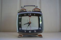 1950's alarm clock. Made by Shanghai belongs door DecadesOfFunkiness