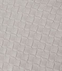 Prima Greymelange Check Weave Jumper - REISS