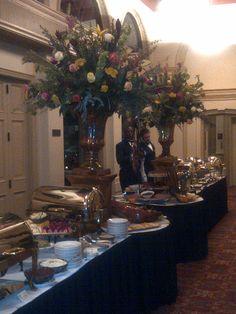 Large Buffet Centerpieces