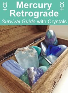 Mercury Retrograde Survival Guide. Crystals for Mercury Retrograde by Ethan Lazzerini. #astrology #crystals #crystalhealing