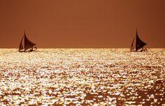 . Boracay Island, Philippines, Discovery, Travel Inspiration, Asia, Hotels, Wanderlust, Boat, Sunset