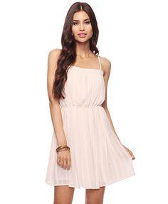 Cherish Crepe Chiffon Dress  $24.80  {Forever21}