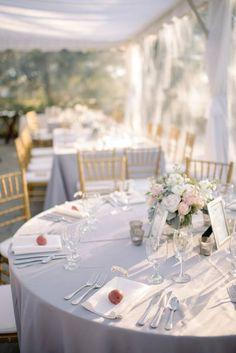 Charleston Wedding Venue with Lilac Details - MODwedding