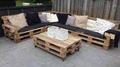 Садовая мебель из поддонов своими руками: просто, недорого, красиво
