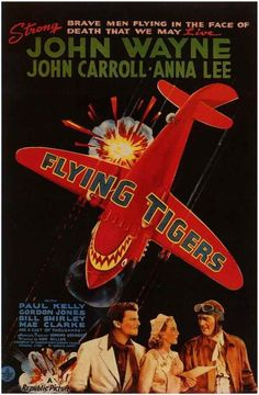 Flying Tigers (1942) - John Wayne DVD