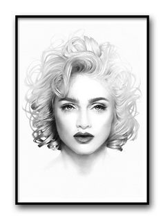 Magdalena Tyboni Look, poster 50x70