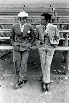 Alain Delon and Jean-Paul Belmondo