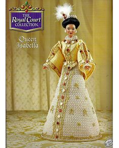 The Royal Court Collection Queen Isabella by grammysyarngarden, $12.00