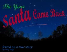 Finally got the first of my #childrensbooks done. #christmas #book #outdoor #rudolph #TheYearSantaCameBack #photo