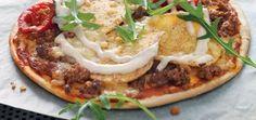 Inspiring recipes for you to try Homemade Mexican Pizza Recipe, Mexican Food Recipes, Ethnic Recipes, Crispy Tacos, Taco Pizza, Santa Maria, Fajitas, Tortillas, Nachos