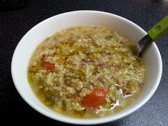 Foodie in Translation: Zuppa miglio, lenticchie e grano saraceno