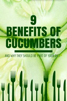 9 Reasons Why Cucumbers Should Be Part Of Your Daily Diet