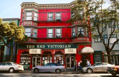 The Red Victorian in San Francisco - Hoberman Collection/UIG via Getty Images