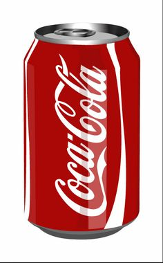 Coke Can I did in Illustrator