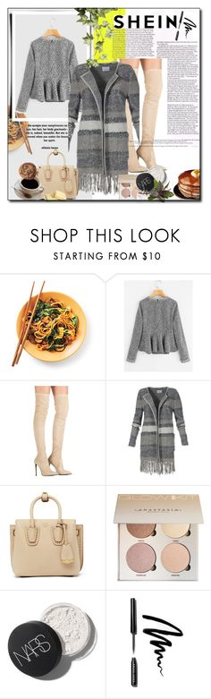 """""""50 Shades of Grey"""" by lovethewayyoulie-273 ❤ liked on Polyvore featuring MCM and Bobbi Brown Cosmetics"""