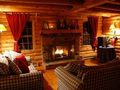 Image of Stunning Christmas Decorating Ideas for Log Cabin with Log Cabin Living Rooms Ideas 600x450 also Log Cabin Garages Uk Log Cabin Bed in a Bag Small Cabin Ideas Cabin Plans with Loft Log Cabins Interior Design Ideas