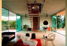 Modern door James & Mau Arquitectura