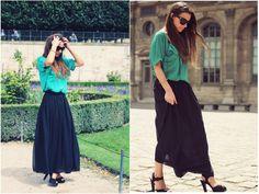 Prendas clave: Faldas largas