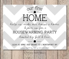 Repin this invite and take 15% off your order at TRENDY PRINTABLES by using coupon code THX4PINNING! https://www.etsy.com/listing/213841990/housewarming-party-invitation