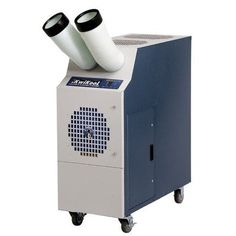 KPAC Series 13,700 BTU Portable Air Conditioner Mounting Type: With Self Ducting Kit by KwiKool. $2525.24. KPAC1411 with 2 DCR12 Mounting Type: With Self Ducting Kit Ideal solution for spot cooling a person or equipment within 5 feet of the unit for quick easy installation or to cool a 400 sq. ft. space. Plugs into a standard 115-volt/15-amp circuit. Features: -KPAC Series collection. -Air conditioner. -Color finish: White/blue. -Plug and play. -Independent intake and e...