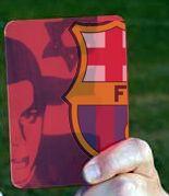 Tarjeta roja al Barça por invitar al soldado israelí Gilad Shalit