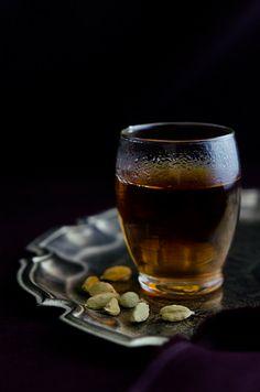 cardamom pod+liquor tea infusion (after dinner tea)