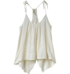 The RVCA Between Lines is a over sleeveless top with an overdye that has a rounded neckline and self spaghetti straps that tie at the shoulders.  The to...