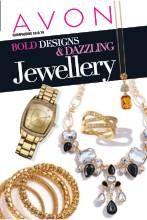 Avon Brochure: Bold Design & Dazzling Jewellery C 18 and 19