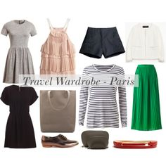 """Travel Light"" by blogfashionpas on Polyvore"
