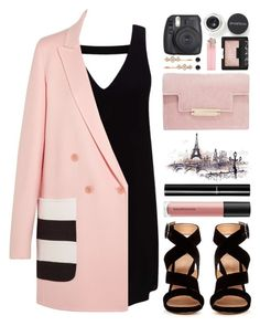 """""""#1004 Lyna"""" by blueberrylexie ❤ liked on Polyvore featuring Miss Selfridge, MaxMara, Gianvito Rossi, Smashbox, Bare Escentuals, Chanel, AERIN, NARS Cosmetics, Fuji and Henri Bendel"""