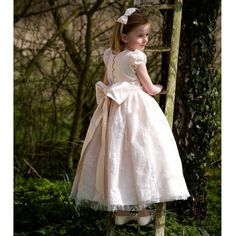 Nicki Macfarlane - Pink Lace 'Chloe' Dress | CHILDRENSALON