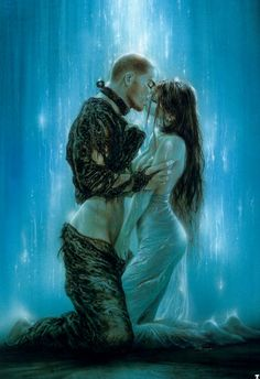 Cheap love art paintings, Buy Quality love lable directly from China love Suppliers: 016 HD oil painting print on canvas Luis Royo a couple making love 16 Fantasy Artwork, 3d Fantasy, Fantasy Kunst, Fantasy World, Dark Fantasy, Black Dagger Brotherhood, Brotherhood Series, Fantasy Faction, The Kiss