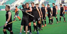 The Junior Black Sticks Men defeated Korea 4-2 to take seventh place at the Hero Hockey Junior World Cup 2013 in New Delhi.