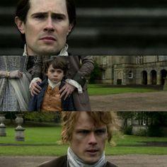 Sad final scene in 304... #Outlander #Season3 #LordJohn #Willie #Jamiesaysgoodbye 😭😭😭