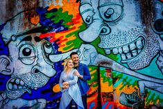 Engagement Photos, Graffiti, Most Beautiful, Wedding Photography, Painting, Wedding Shot, Painting Art, Paintings, Engagement Pics