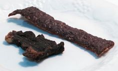 Home Made Jerky from Ground Beef YUM <3 Make in a food dehydrator or bake at 150F - 170F in the oven.