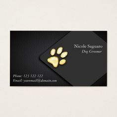 245 best dog trainer business cards images on pinterest business dog trainer groomer business card colourmoves