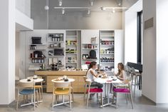 The #Moleskine #Café is a store, a #library, an art gallery and of course a café all in one. A Milanese #contemporary reinterpretation of the café littéraire.