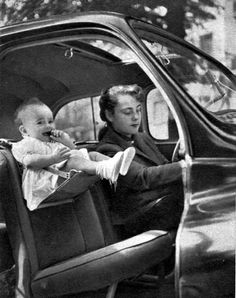 Good Times, 1952: Giving Baby a better view!
