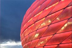 Visiting Allianz Arena Munich – Football match Bayern Munich