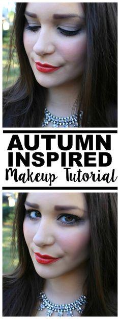 Gorgeous Autumn Inspired Makeup Tutorial!