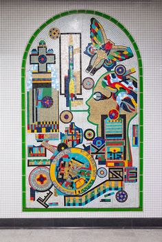 London Underground has completed its restoration of Eduardo Paolozzi's Tottenham Court Road station mosaics as part of an extensive modernisation and expansion of the station.