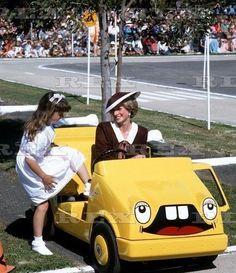 Diana Princess of Wales visiting DECA Shepparton 16 October 1985