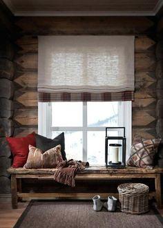 Self Architecture / cozy cabin charm Decor, Rustic House, Cabin Design, House Interior, Rustic Window, Home, Cabin Decor, Cabin Living, Cottage Interiors