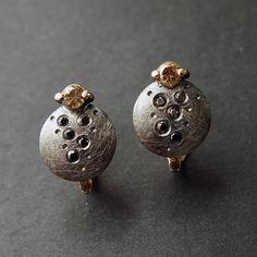 Dark side of the moon earrings Jakub Śliwowski