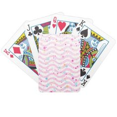 #pretty - #Waves2 Bicycle Playing Cards