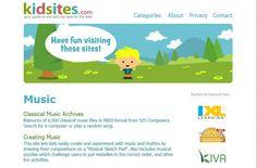 """""""Kid sites"""" este exact ceea ce vă trebuie, dacă prichindelul vostru iubește muzica, pentru că aici o să descoperiți multe lucruri interesante, de la lecții de chitară, până la informații despre instrumentele muzicale. Kids Sites, Music Files, Classical Music, Cool Kids, Have Fun, Songs, Learning, Studying, Teaching"""