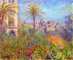 "1884 / Wild Villas a Bordighera. Private collection (Seen ""Collections Privees"", Musee Marmottan Monet, Paris. O Keeffe Paintings, Monet Paintings, Landscape Paintings, Landscapes, Claude Monet, Fondation Louis Vuitton, Vogue Paris, French Impressionist Painters, Fine Art Amerika"