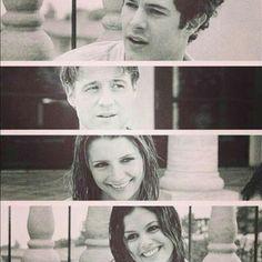 Seth, Ryan, Marissa, and Summer Marissa Cooper, Adam Brody, Rachel Bilson, Summer And Seth, Best Dramas, The Oc, Best Tv Shows, Movie Tv, Polaroid Film